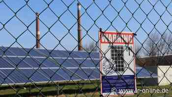 Gericht Bad Liebenwerda: Bande wegen missglücktem Solar-Klau in Plessa verurteilt - Lausitzer Rundschau