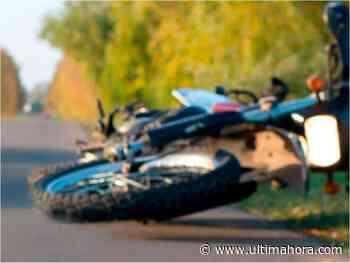 Motociclista muere tras chocar contra columna en Encarnación - ÚltimaHora.com