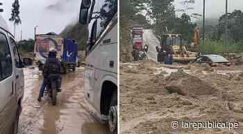 Amazonas: deslizamientos volvieron a bloquear vía Pedro Ruiz-Chachapoyas - LaRepública.pe