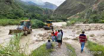 Tránsito vehicular en carretera Chachapoyas - Pedro Ruiz es reestablecido tras deslizamiento de lodo en Amazonas - Diario Ojo