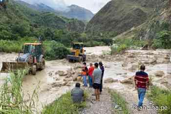 Amazonas: recuperan tránsito en vía Pedro Ruiz–Chachapoyas afectada por deslizamiento - Agencia Andina