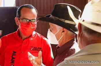 Visita Alan Murillo comunidades de Sombrerete - NTR Zacatecas .com