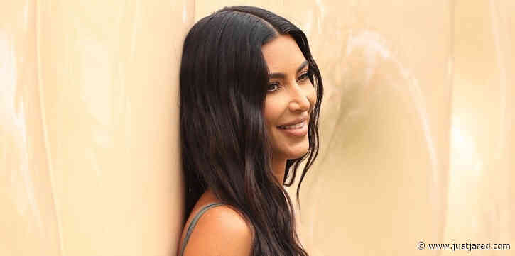 Kim Kardashian Visits Her SKIMS Pop-Up Shop After Becoming a Billionaire!