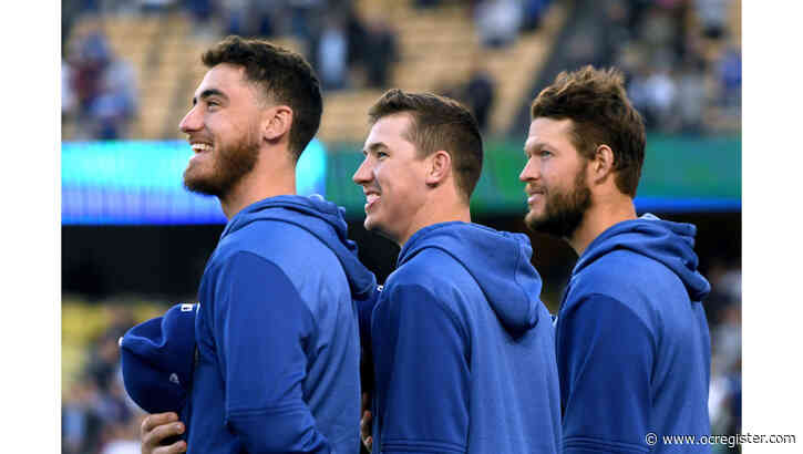 Dodgers head home, anticipating 'pretty special day' in home opener