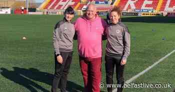 Cliftonville Ladies unveil Eimear's Wish as official shirt sponsor - Belfast Live