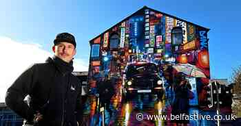 Shankill Road partnership unveils incredible mural to inspire young people across Belfast - Belfast Live