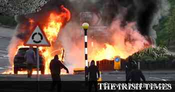 Foster urges end to loyalist violence in Belfast and Derry - The Irish Times