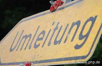 Wegen Wasser und Breitband: Straßen in nächster Zeit gesperrt - Passauer Neue Presse