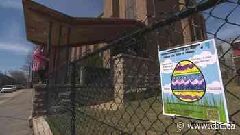 Virtual Easter egg hunt in Verdun brings families outside - CBC.ca