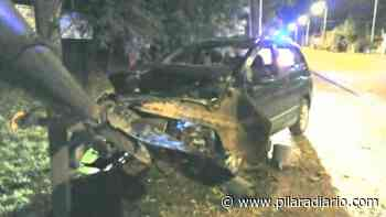 Dos heridos en un accidente de tránsito en Del Viso - Pilar a Diario