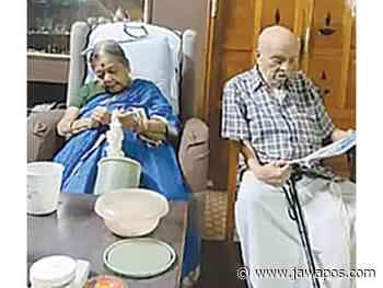 Usia Pernikahan 72 Tahun, Kakek-Nenek Mumbai Bocorkan Tip Keharmonisan - JawaPos