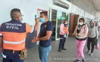 Instalaron filtro sanitario en central de autobuses de Lagos de Moreno - El Occidental