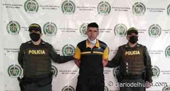 """Alias """"Tolima"""", reconocido homicida, fue capturado en Hobo - Diario del Huila"""