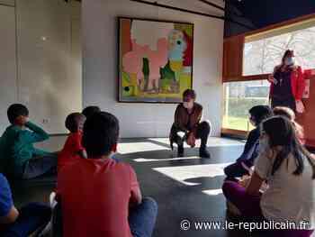 Essonne : à Etampes, les enfants découvrent l'Art avec le Centre Pompidou - Le Républicain de l'Essonne