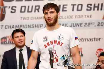 Umar Salamov vs. Sergey Ekimov Clash on April 8 in Grozny - BoxingScene.com