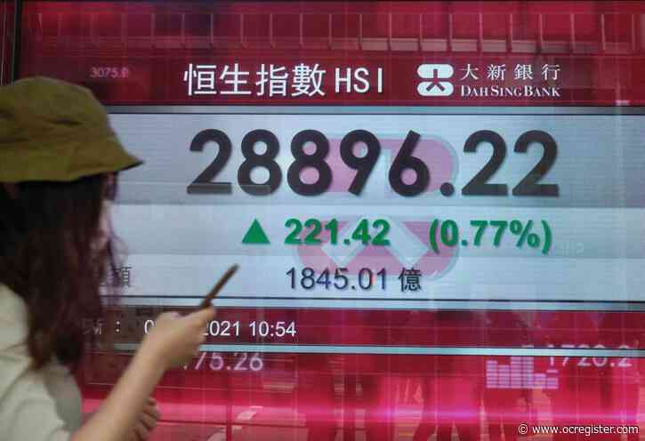 Asian shares mostly higher after S&P record high