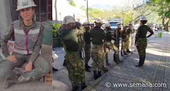 Subteniente del Ejército lidera operación de atención de desastres en Dabeiba, Antioquia - Semana