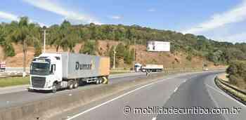 Acidente interdita BR-116 em Campina Grande do Sul BR-116 Campina Grande do Sul - Mobilidade Curitiba