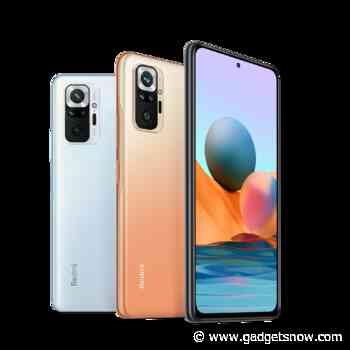 Redmi Note 10 Pro Max with 120Hz refresh rate screen to go on sale today via Amazon at 12pm