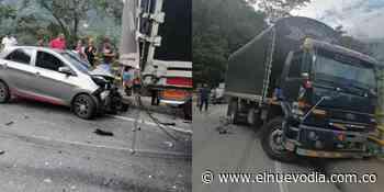 Familiares de la alcaldesa de Rioblanco lesionados tras fuerte accidente en vía a Cajamarca - El Nuevo Dia (Colombia)