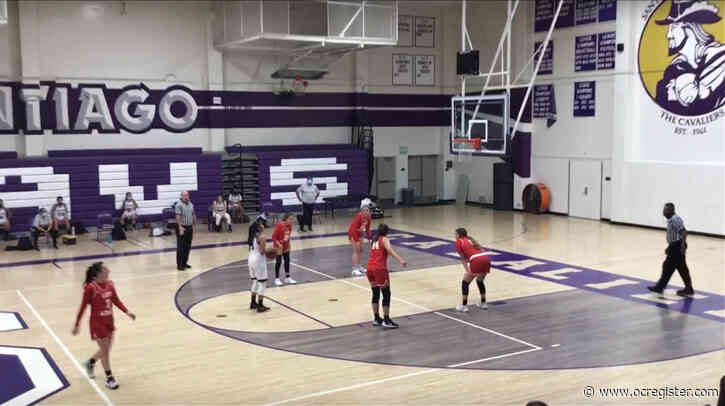 Girls basketball roundup: Santiago stays hot, edges Whittier Christian on late free throw