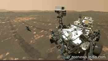 Mars Perseverance rover takes first ever selfie with Ingenuity helicopter