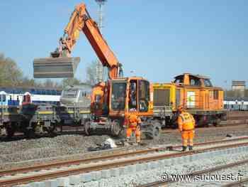 Transports : la gare saintaise, dernière ligne droite du chantier ferroviaire entre Saintes et Saint-Mariens - Sud Ouest