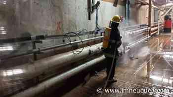 Bomberos contuvieron una pérdida de amoníaco en Vista Alegre - Lmneuquen.com
