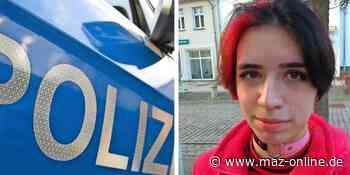 Pritzwalk: Laura Fried aus Falkenhagen wird noch immer vermisst - Märkische Allgemeine Zeitung