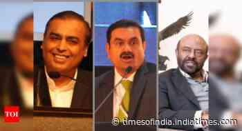 Top 3 richest Indians added $100bn during pandemic