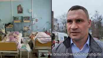 """Klitschko: Gesundheitssystem in der Ukraine """"am Abgrund"""""""