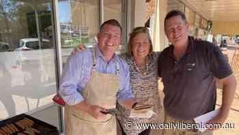 Dubbo MP Dugald Saunders hosts community barbecue in Trangie - Daily Liberal
