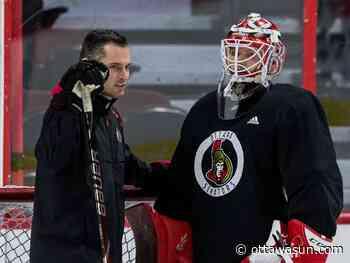 Pierre Groulx out, Zac Bierk in as Senators change goaltending coaches - Ottawa Sun