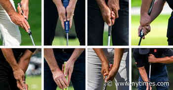 How to Grip a Putter: 9 Ways the Pros Use