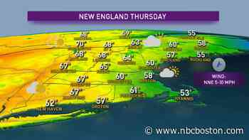 Quiet Spring Weather Pattern Continues - NBC10 Boston