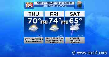 Active Weather Thursday - LEX18 Lexington KY News