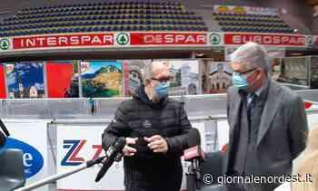 Silvio Brusaferro (ISS) in visita al centro vaccinale di Cividale del Friuli - Giornale Nord Est