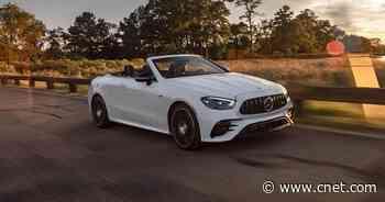 2021 Mercedes-AMG E53 Cabriolet review: High-tech and handsome     - Roadshow