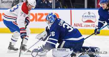 Campbell registers franchise record 10th straight win as Toronto Maple Leafs down Canadiens