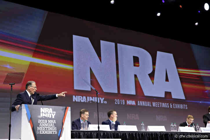 During Testimony In Texas, NRA Chief Says He Didn't Tell Top Leaders Before Bankruptcy