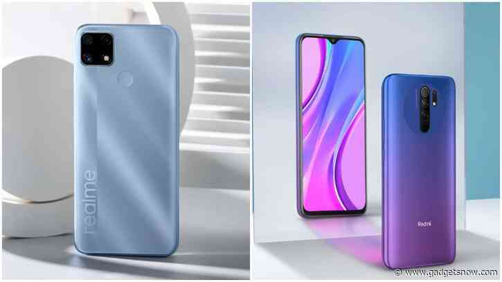 Realme C25 vs Xiaomi Redmi 9 Prime: How the two gaming phones under Rs 10,000 compare