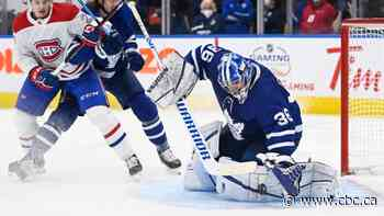Maple Leafs dump Canadiens as Jack Campbell stays perfect with 10th straight win