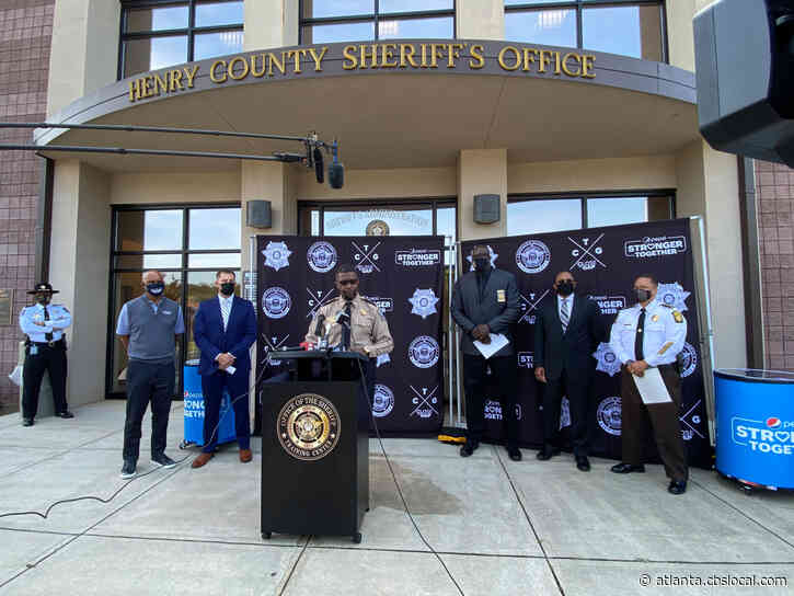 Metro Atlanta Sheriffs, Agencies Join Shaquille O'Neal For Community Outreach Initiative