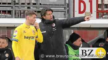 Eintracht Braunschweigs Stickroth: Osnabrück ist nicht St. Pauli - Braunschweiger Zeitung