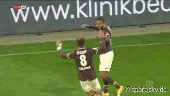 2. Bundesliga Video: FC St. Pauli besiegt Eintracht Braunschweig - Sky Sport