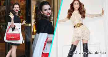 7 Times Lily Collins Gave Us Major Glamour Goals - Femina