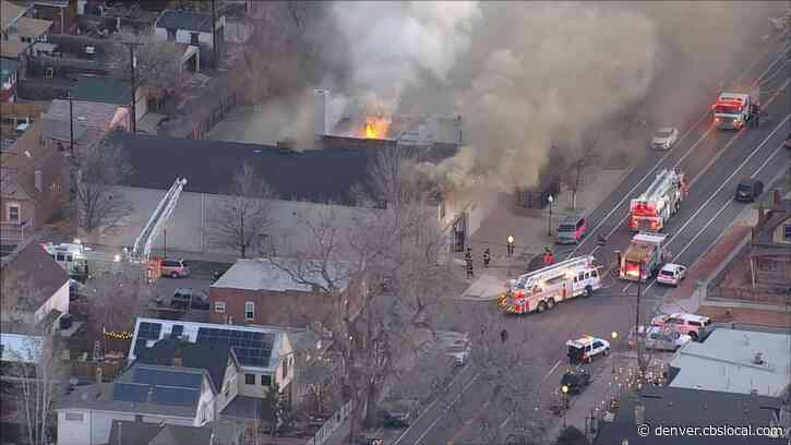 Firefighters Battle Two-Alarm Fire At North Denver Church