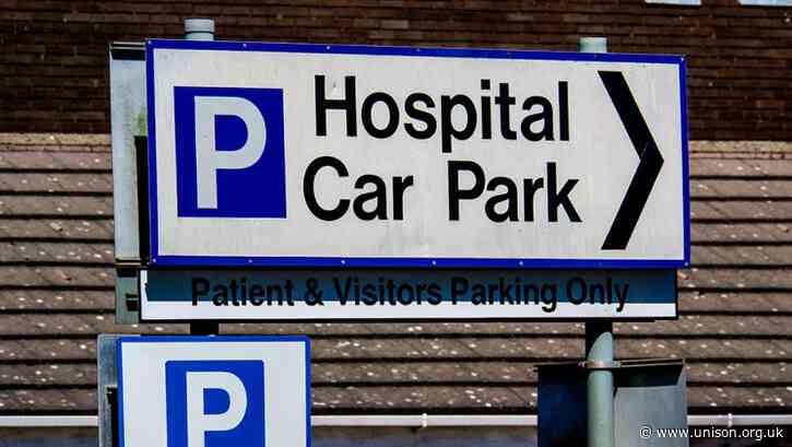 UNISON wins U-turn over hospital parking charges