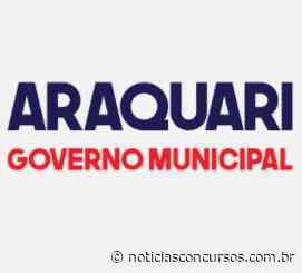 Prefeitura de Araquari – SC divulga novo Processo seletivo: Até R$14,6 mil - Notícias Concursos