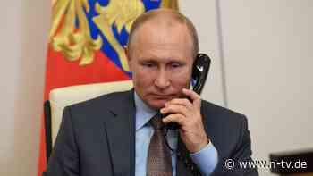 Telefonat zur Lage in Ostukraine: Putin beschwert sich bei Merkel über Kiew